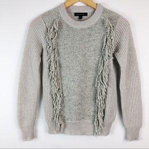 Banana Republic fringed sweater
